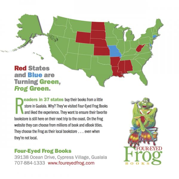The frog goes national four eyed frog books the frog goes national gumiabroncs Images